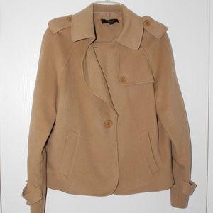 Talbots Sz 8 Wool Blend Peacoat Short Coat Jacket